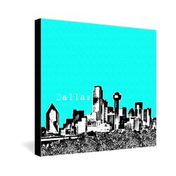 Dallas by Bird Ave. Graphic Art on Canvas