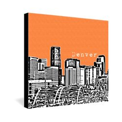 Denver by Bird Ave. Graphic Art on Canvas