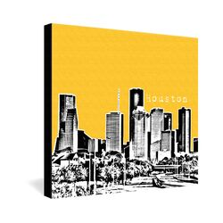 Houston by Bird Ave. Graphic Art on Canvas