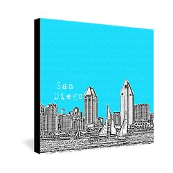 San Diego by Bird Ave. Graphic Art on Canvas