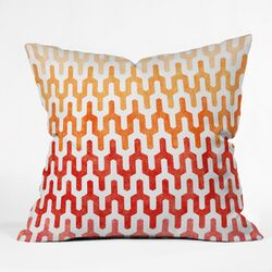 Arcturus Warm Throw Pillow