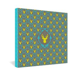 Oh Deer 3 by by Bianca Green Graphic Art on Canvas