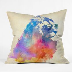 Robert Farkas Woven Polyester Throw Pillow