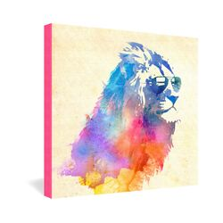 Sunny Leo by Robert Farkas Graphic Art on Canvas