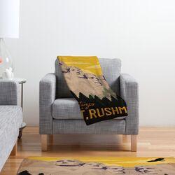 Anderson Design Group Nount Rushmore Polyester Fleece Throw Blanket