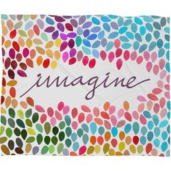 Garima Dhawan Imagine 1 Polyester Fleece Throw Blanket