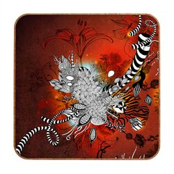 Wild Lilly by Iveta Abolina Framed Graphic Art Plaque