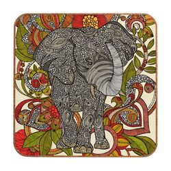 Bo The Elephant by Valentina Ramos Framed Graphic Art Plaque