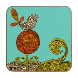 Bird in The Flower by Valentina Ramos Framed Graphic Art Plaque