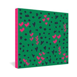 Vy La Animal Love Gallery Wrapped Canvas