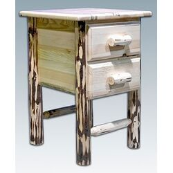 Montanawith 2 Drawer Nightstand