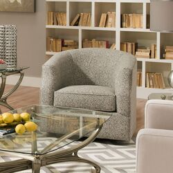 Linwood Swivel Barrel Chair