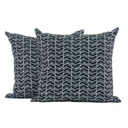 Chevron Polyester Cushion