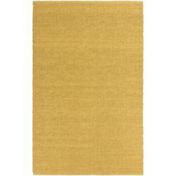 HawaII Jane Hand-Woven Gold Area Rug
