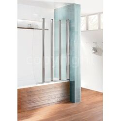 Simpsons Edge Foldaway Bath Shower Screen