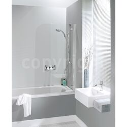 Simpsons Supreme Deluxe Bath Shower Screen
