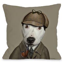 Pets Rock Detective Pillow