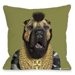 Pets Rock Fool Throw Pillow