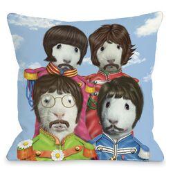 Pets Rock Furry Four Pillow