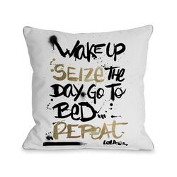 Seize the Day Pillow