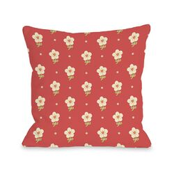 Elana's Flowers Pillow