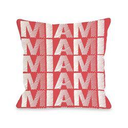Miami Repeat Pillow