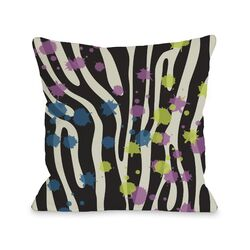 Party Zebra Pillow