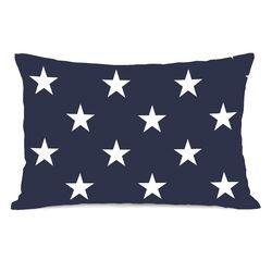 Stars and Stripes Reversible Lumbar Pillow
