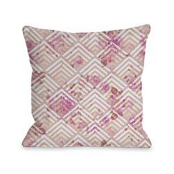 Saeko Scale Floral Pillow