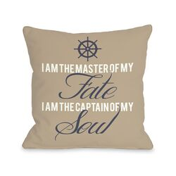 Master of Fate, Captain of Soul Pillow