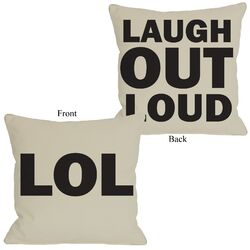 LOL Reversible Pillow