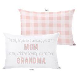 Mom Grandma Pillow