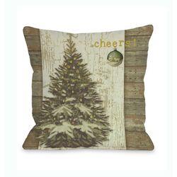 Cheers Tree Pillow
