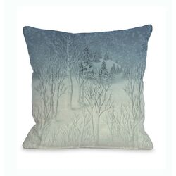 Winter Woods Pillow