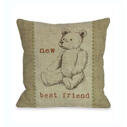 New Best Friend Bear �Pillow
