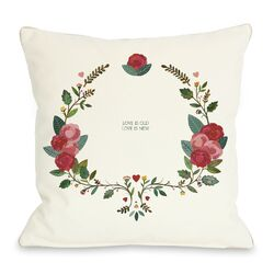 Love is Old Love is New Pillow