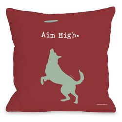 Doggy D�cor Aim High Dog Pillow