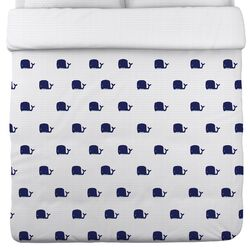 All Over Mini Whale Duvet Cover