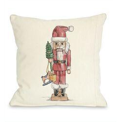 Simple Nutcracker Pillow