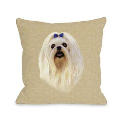 Doggy D�cor Maltese Pillow