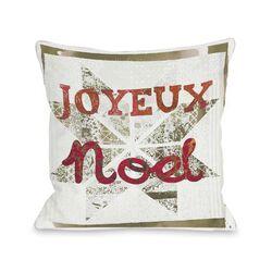 Joyeux Noel Pillow