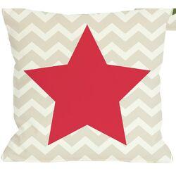 Chevron Star Reversible Pillow