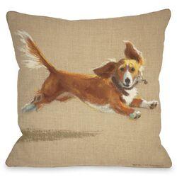 Doggy D�cor Mighty Mutt Pillow