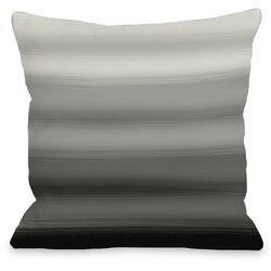 Ombre Watercolors Throw Pillow