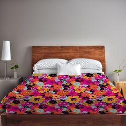 Summers Day Floral Fleece Duvet Cover