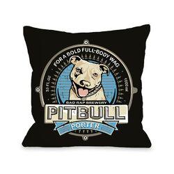 Doggy D�cor Pitbull Porter Pillow