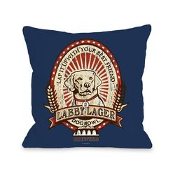 Doggy D�cor Labby Lager Pillow