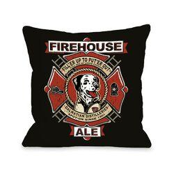 Doggy D�cor Firehouse Ale Pillow