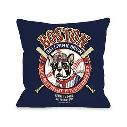Doggy D�cor Boston Brew Pillow