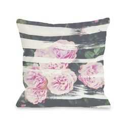 Blooming Strokes Pillow